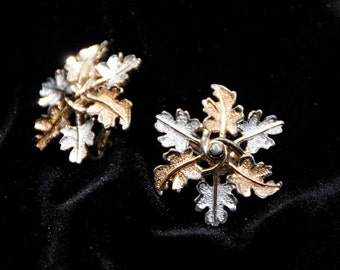 Sarah Coventry 'Garland' vintage clip earrings