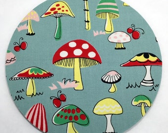 Mushrooms Mouse Pad / Computer / Office Decor / Coworker Gift / Home Decor / Teacher Gift / Office Supplies / Desk Decor / Toadstool / Yard