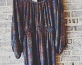 Sparkle Multi-Colored Swing Party Dress Size Large