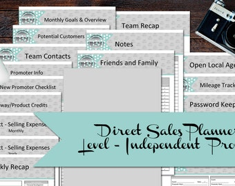 Level - Direct Sales Planner Jump Start Your Business - 18 pages