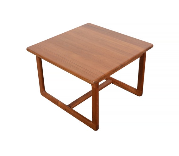 Teak Coffee Table And End Tables: Teak Coffee Table Side Table Korup Design Danish Modern