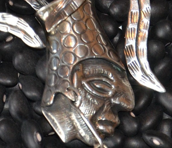 Warriors Orochi 4 Review Jim Sterling: Large TAXCO Sterling Silver 925 Pendant With Eagle Mark By
