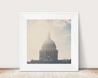 london photograph st pauls cathedral photograph london print london decor st pauls cathedral print england photograph english decor