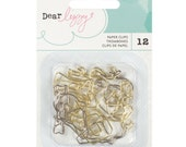 Dear Lizzy - Happy Place Collection - Shaped Paperclips - 12 pieces - 373673