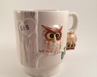Owl Mug for Sisters