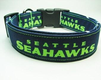 Seattle Seahawks Dog Collar