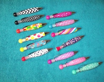 Monogrammed Pen, Personalized Pens  NEW STYLES, new colors, new designs