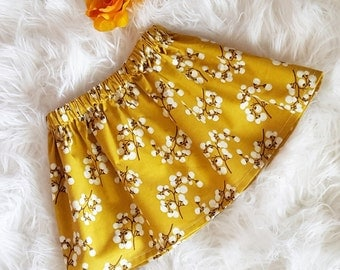 Saffron bloom Infant/Toddler skirt