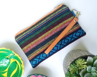 Mexican Blanket Wristlet