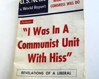 Vintage Magazine, U. S. News & World Report, January 9, 1953