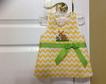 baby girl apron bib