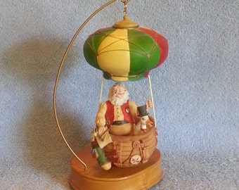 Music Box - Santa's Journey 1994 - Santa in a Hot Air Balloon - Around the World I've Searched for You