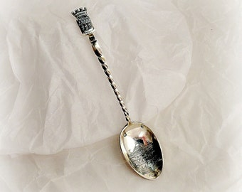 French Sterling Spoon: Paris Opera, Opera Garnier, Souvenir Spoon, Labat & Pugibet ca 1880