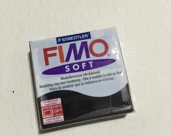 On Sale FIMO Soft Polymer Clay - 9 Black - 56g Single Block