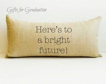 "Graduation gift, personalized gift, graduation gift, graduation, ""Here's to a bright future!"" personalized graduation, gift for teens, gift"