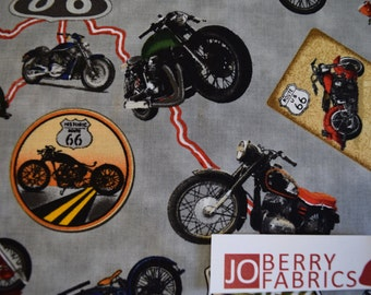 Route 66 Collection by Blank Quilting.  Quilt or Craft Fabric, Fabric by the Yard.