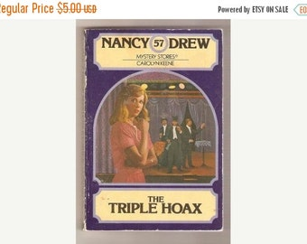 SHOP4FUN Nancy Drew The Triple Hoax book No. 57