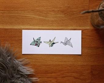 Paper Crane Print