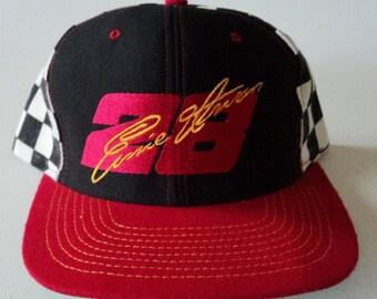 Vintage Ernie Irvan #28 Nascar Snapback Hat VTG