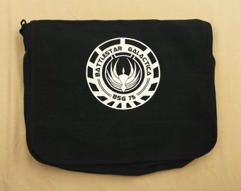 Battlestar Galactica Embroidered Messenger Bag