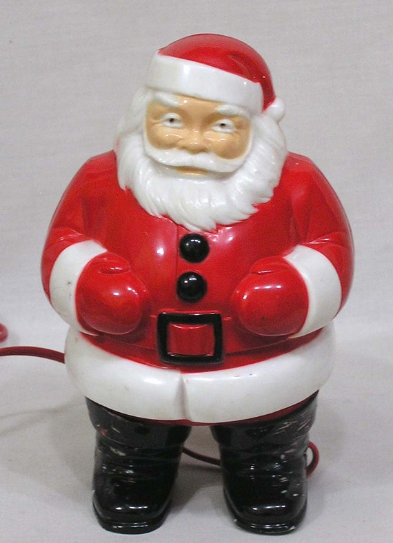 Vintage Hard Plastic General Products Figural Santa Claus