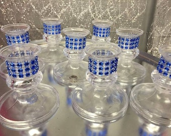 Sweet 15 Mis Quince tapered candle holders for lighting ceremony