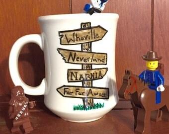 Fairytale Sign Post Mug