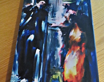 Entitled: Playing the Blues (Canvas)
