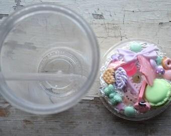 Kawaii Cupcake Tumbler