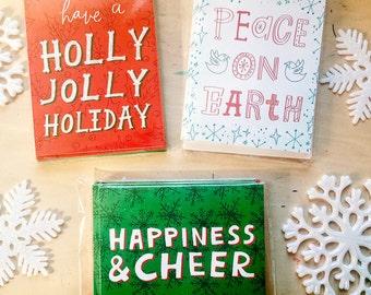 Holiday Card Set (8 cards/envelopes)