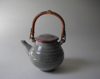 White Shino Teapot