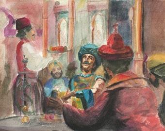 Sheherazade's Tavern (Eastern Storyteller)