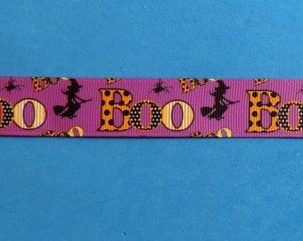 Halloween Boo ribbon - 3 yards - Overstock sale