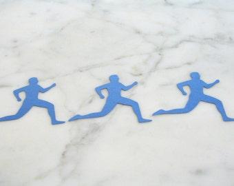 10 Runner Cutouts - Runner Decorations - Runner Paper Garland Supplies
