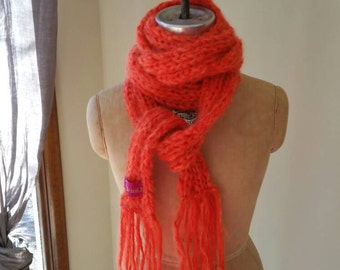 Hand knit - scarf
