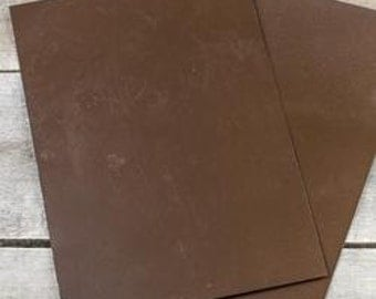 Rusted Tin Metal Sheet - 9 x 12 inches - 2 pieces