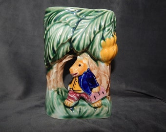 Vintage Hand Painted Hippo Planter by Royal in Japan