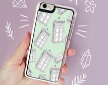 Doctor Who iPhone 6 case Tardis iPhone 6S Case Cute Doctor Who iPhone 6 Plus Case iPhone 5s Case iPhone 6 Case Tardis Samsung Galaxy S4 S5