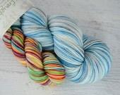 After the Storm heel/toe sock set - superwash merino/nylon sock yarn (463 yd skein w/matching 100 yd skein)