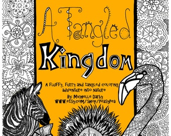 A Tangled Kingdom Adult Colouring Adventure Book