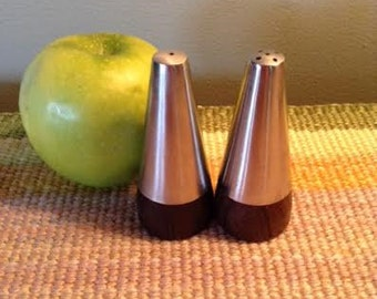 Mid Century Salt & Pepper Shakers - 1970's
