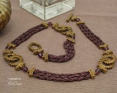 "Deutsch - Tutorial Necklace ""Rings and Ropes"" (PDF, deutsch)"