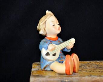 1950's, Joyful, Hummel Figurine, We have more Hummels, Goebel Hummel, Great Gift Idea, #734