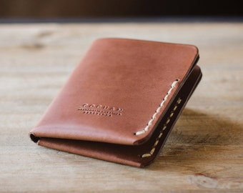 Leather Bifold Wallet, Bifold Wallet, Wallet, Leather