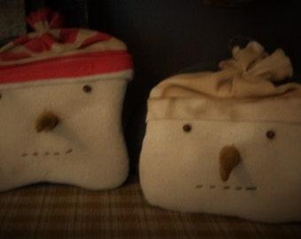 Primitive Snowman Doll, Primitive Snowman Cupboard Tuck, Primitive Snowman Bowl Filler, FAAP, Snowman Orni. Primitive Doll, Winter