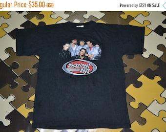 ON SALE 20% Vintage 90s BACKSTREET Boys Got In Goin Out Usa Tour Concert Promo album T-shirt