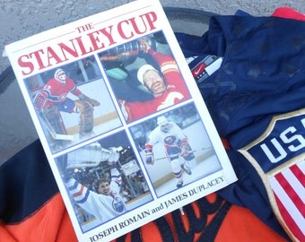 NHL Hockey The Stanley Cup Book  Lord Stanleys Cup NHL History Facts Photos History Ice Hockey Team Winners Boston Bruins Gretzky Oilers