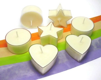 6 Aromatherapy Tealight Candles | Soy Candles | Luxury Candle | Wedding Candles Decor | Scented Tealights | Bespoke | Home Decor | Gift