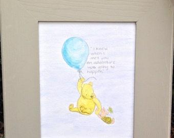 Shabby Chic Winnie the Pooh Nursery Decor