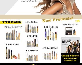 Tyra Beauty Digital Tear Off Flyer